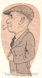 Will Tapping ~ a sketch done in 1949 by his brothers' cousin, F.B. Purssell